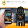 Blueskysea B2W Dash Camera Car Dvr Full HD 1080P WiFi Dash Cam Rotate Parking Mode Car Dashboard Recorder for Uber Lyft Taxi Bus
