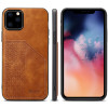 Card Holder Phone Case for Apple iPhone 11 Pro Max Luxury Leather Cover Fitted Silicone Frame Anti-knock Business