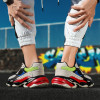 New Dad Shoes Men Chunky Sneakers Quality Leather Mesh Patchwork Men Casual Shoes Comfortable Black Leisure Men Shoes 45