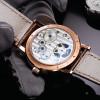 LOBINNI erkek kol saati Switzerland Luxury Brand Automatic Mechanical Men's Wirstwatches Sapphire Leather Real Tourbillon Watch