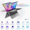 Teclast F6 Plus 360° Laptop 13.3 inch Notebook Windows 10 OS 8GB LPDDR4 256GB SSD 1920*1080 IPS Intel N4100 touch screen laptop