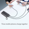 Baseus PD QC3.0 20000mAh Power bank 5V3A Quick Charger For iPhone Samsung 2 USB Power Bank Type C Charger Powerbank For Laptop