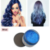 Hair Color Wax Hair Dye One time Hair Wax Natural Hairs Chalk Temporary Styling Pomade Colorful for Women Men 120g