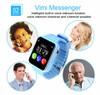 ITORMIS Baby Smart Watch V7 Children Kids Security Safety GPS Location Finder Tracker Waterproof Phone Call SOS for iOS Android