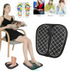 EMS Stimulator Foot Massage Mat   Electric EMS Foot Massager Pad Feet Muscle Stimulator Improve Blood Circulation Relieve Ache Pain for Man and Woman