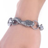 Top Quality Men Bracelet Bangle 316L Stainless Steel Snake Jewelry Vintage Punk Charms Bracelets & Bangle Women Jewelry