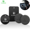 FLOVEME 2 pieces Magnetic Disk Car Phone Holder Iron Sheets Metal Plate For Magnet Mobile Phone Car Holder Stand Accessories