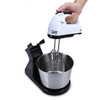 180W 7-speed Kitchen Electric Hand Stand Mixer Whisk Blender for Bread Egg Dough EU Plug