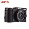 "2018 New AMKOV AMK-R2 3.0"" LCD 1080P HD Digital Zoom 24MP Digital SLR Self-timer Camera + Wide-angle Lens DSLR Camera Fast Ship"
