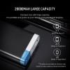 20000mAh Power Bank, ROCK Universal Portable Power bank 20000 mAh for iPhone 8 7 6 plus Battery Powerbank for Samsung