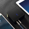 5000 mAh 2 in 1 Power Bank With Wall USB Charger for iPhone 6 7 8 X for Xiaomi, ROCK Portable Power-bank battery powerbank