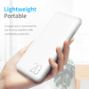 ROCK Power Bank 20000mAh Portable External Battery Charger Dual USB PowerBank for iphone Samsung Xiaomi
