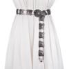Fashion personality belt for women High quality metal flower string waist chain ceinture femme on dress belts female