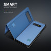 CTRINEWS Plating Mirror Case For Samsung Galaxy S9 S9 Plus S8 S7 Edge Clear View Smart Flip Case For Galaxy Note 8 Leather Cover