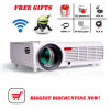 led96 5500lumens Android 4.4 1080P wifi led projector full hd 3d home theater lcd video proyector projektor projetor beamer bt96