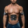 EMS Wireless Muscle Stimulator Smart Fitness Abdominal Training Device Electric Weight Loss Stickers Body Slimming Belt Unisex
