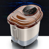 Automatic Electric Roller Massage Foot Spa Device Footbath Machine Smart Control Foot Heating Massager Safe Bucket Basin