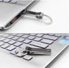new usb flash drive 64GB/125GB/ 256GB pen drive waterproof metal silver u disk Memory stick usb 2.0 (54681f2d)