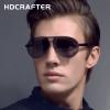 HDCRAFTER 2017 Mens Sunglasses Brand Designer Unisex Sunglasses Pilot Polarized uv400 Oculos de sol masculino