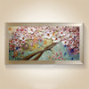 New handmade Modern Canvas on Oil Painting Palette knife Tree 3D Flowers Paintings Home living room Decor Wall Art 168032