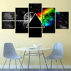 Wall Art Poster Modular Canvas HD Prints Paintings 5 Pieces Pink Floyd Rock Music Pictures Home Decor For Living Room Framework