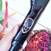SHOWLISS Steam Moisturizing Hair Straightener Brush With LCD Display Electric Ceramic  Fast Comb Steam Hair Straightener