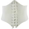 HIRIGIN 2017 Women Leather Body Shaper Buckle Waistband Women Elastic Extra Wide TIGHT Corset Tie High Waist Slimming Belt
