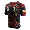 Raglan Sleeve Spiderman 3D Printed T shirts Men Compression Shirts 2018 Summer NEW Cosplay Crossfit Tops For Male Fitness Cloth