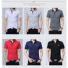 BROWON 2017 NEW Casual Striped T-shirt Men Long Sleeve Fitness Men Tee Shirt Clothing Camisetas Men T Shirt Plus Size