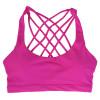 2017 Hot Back Sexy Yoga Bra Women Padded Sports Bra Shake proof Running Bra Workout Gym Bra Wire Free Push Up Fitness Sport Top