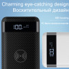 HOCO QI Wireless Charger Power Bank 10000mah Portable Dual USB with Digital Display External Battery Powerbank for iphone X 8