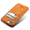 Luxury PU Leather Wallet Case For iPhone 7 Case Plus iPhone 6 Case 6s Plus Business Card Holder Back Cover Phone Cases For Men