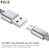 PZOZ Micro USB Cable Fast Charging Phone Charger adapter Data Cabel For Samsung Xiaomi Huawei MEIZU SONY Android Charge Microusb