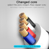 Baseus Zinc Alloy USB Cable For iPhone X 8 7 6 6s Plus 5 5s Mobile Phone Cable Fast Data Sync Charging For iPhone Charger Cable