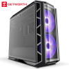 GETWORTH S11 High End Desktops Computer I7 8700K ASUS Z370 ASUS 1080ti 8G DDR4 3200 WD 2TB HDD Intel 256G SSD Free LED Fans