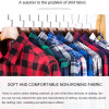 2018 New Men Plaid Long-sleeved Casual Shirts Flannel Slim Fit Spring Male Business Fashion loog Casual Dress Shirt size XS-4XL