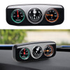 3 in 1 Guide Ball  Compass Thermometer Hygrometer For Auto Boat Vehicles Interior Accessories Decoration Car Ornaments
