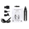4 in one Rechargeable nose hair trimmer for men trimer ear face eyebrow nose hair removal eyebrow Trimmer for nose Wireless