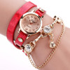 DUOYA watches bracelet watch women wrist watches Hot sale fashion luxury bead pendant women Wristwatches Relogio Feminino