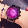 GUOU Big Dial Female Watch 2018 Luxury Brand Rose Gold Women Bracelet Watch Fashion Dress Ladies Wristwatch zegarki damskie