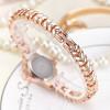 2017 JW Top Brand Women Bracelet Watches Luxury Rhinestone Gold Dress Watch Women Fashion Casual Alloy Quartz Wristwatches JW061