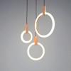Modern LED chandelier nordic living room pendant lamp bedroom fixtures stair lighting novelty illumination loft hanging lights