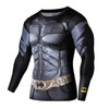 2018 Men Running T-shirts Fitness Compression Shirt Men Black Panther Crossfit Bodybuilding T shirt 3D Printed Superman Tops