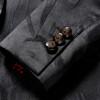 2018 Fashion Mens Printed Blazers Casual Slim Fit Prom Dress Blazer Men Black Floral Stage Wear Blazers Jacket for Men DT313