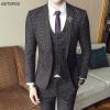 Men 3 Piece Wedding Suit