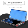 CTRINEWS Smart View Clear Mirror Flip Case For Samsung Galaxy Note 8 S8 S7 Edge Luxury Stand Leather Cover S9 S9 Plus Phone Case