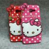 Luxury 3d cute cartoon hello kitty women phone case cover for samsung galaxy A5 A7 A8 A9 J1 J2 J3 J5 J7 2015 2016 J510 J710