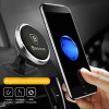 Baseus Universal Car Phone Holder 360 Degree GPS Magnetic Mobile Phone Holder For iPhone 8 Samsung S8 Magnet Mount Holder Stand