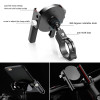 Bike Bicycle Metal Holder for Mobile Phone Holder Adjustable Motorcycle Handle Phone Mount for iPhone for Huawei GPS