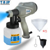 TASP MESG400M 220V 400W Electric Spray Gun HVLP Paint Sprayer For Painting with Adjustable Flow Control and 3m Cable